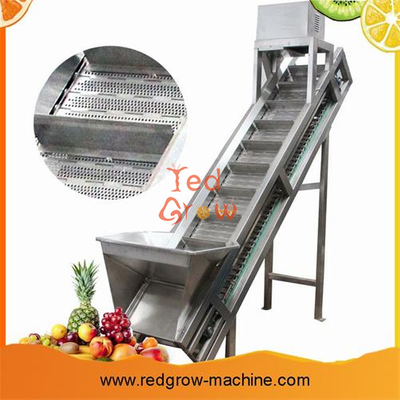 Lifting Conveyor Machine For Fruit And Vegetable Processing Line